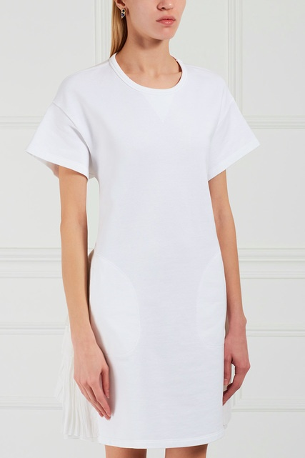 Платья трапеция из шелка
