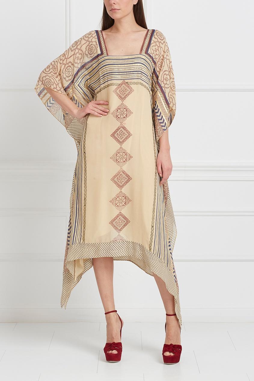 Туника с вышивкой в египетском стиле 32