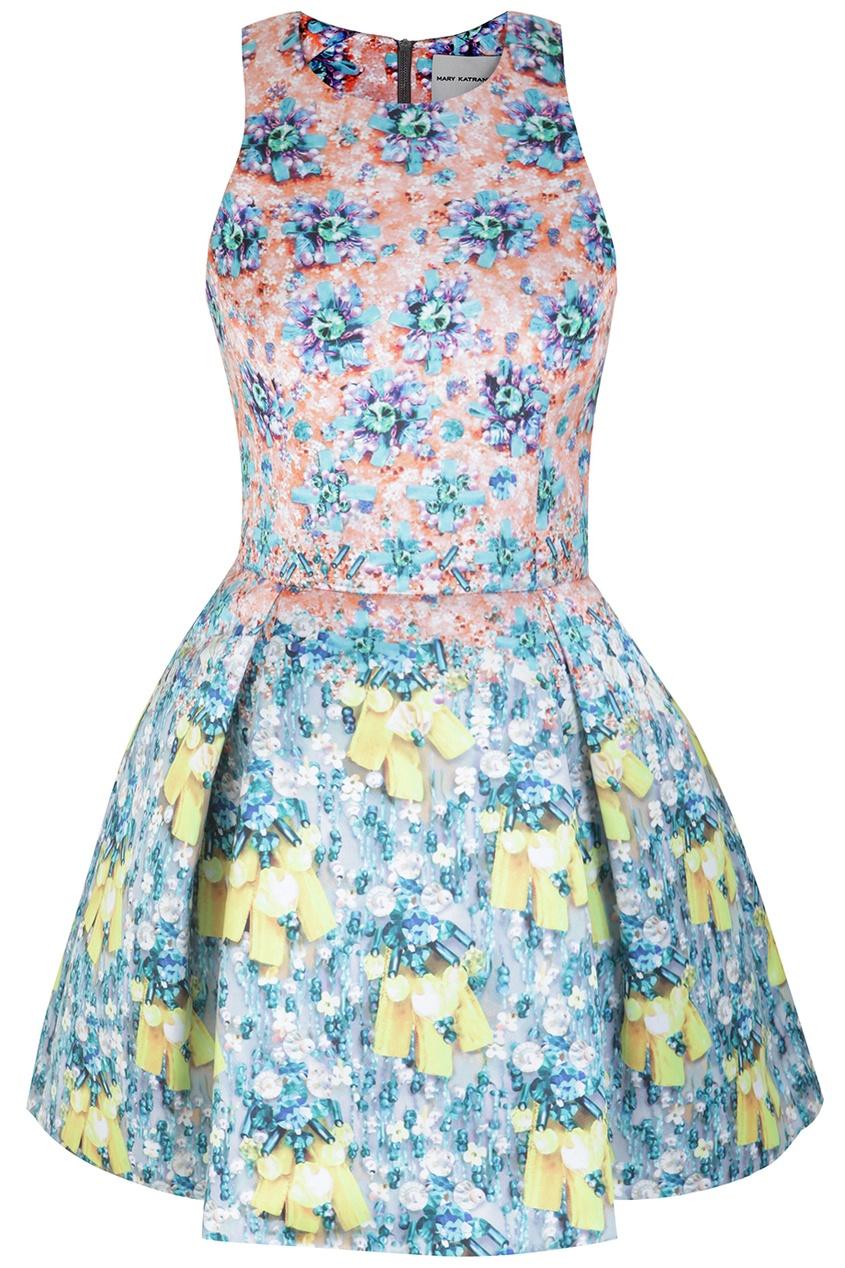 Платье из полиэстера
