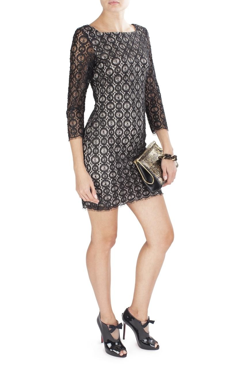 Платье из нейлона