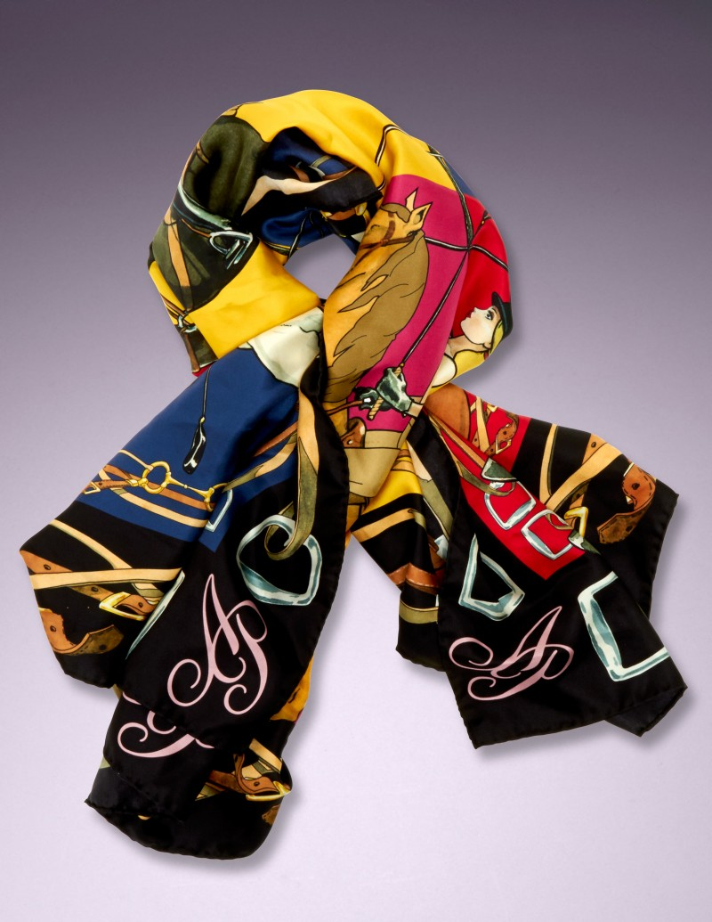 Шелковый шарф Corinthia от Agent Provocateur
