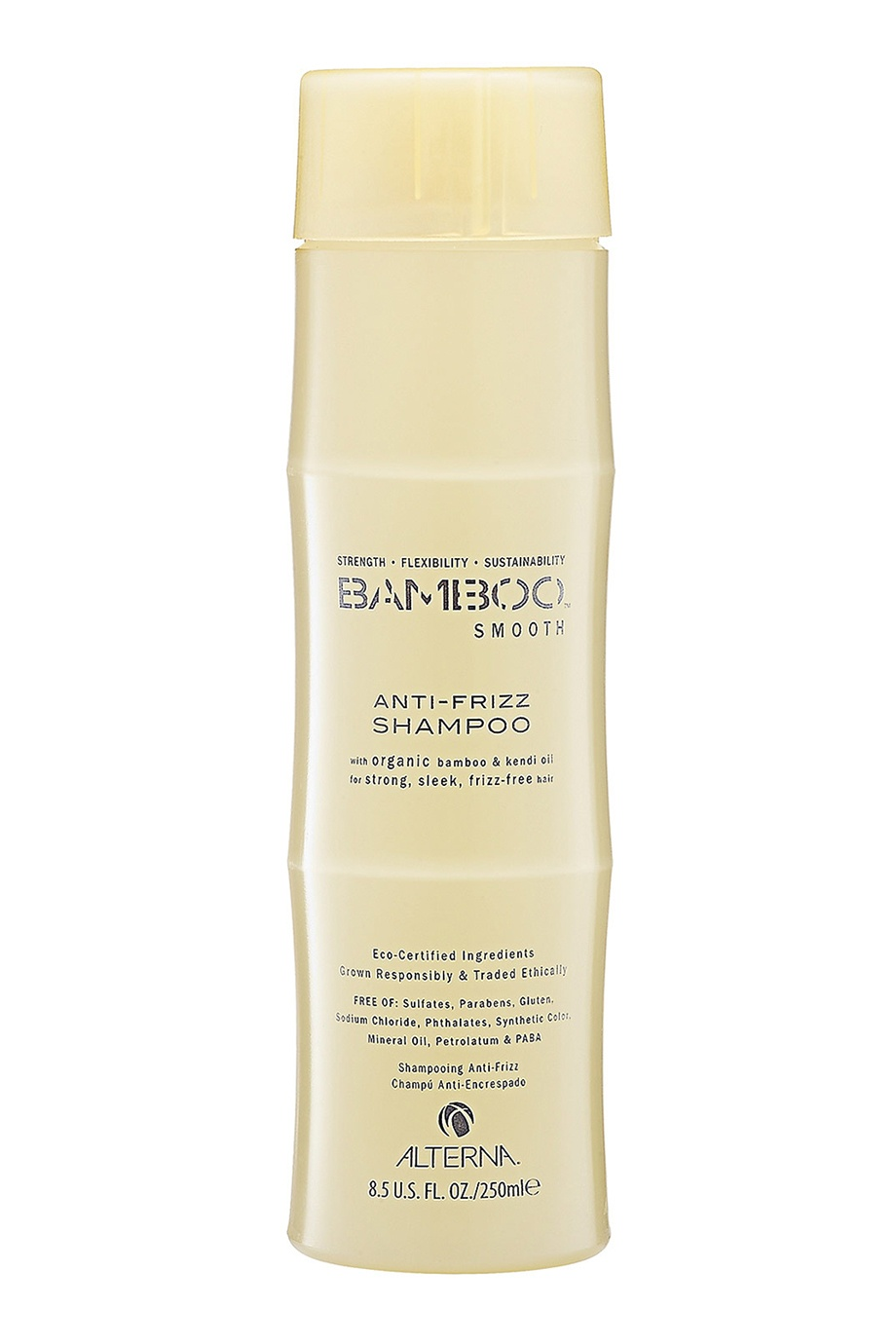 Полирующий шампунь Bamboo Smooth Anti-Frizz 250ml Alterna (фото)