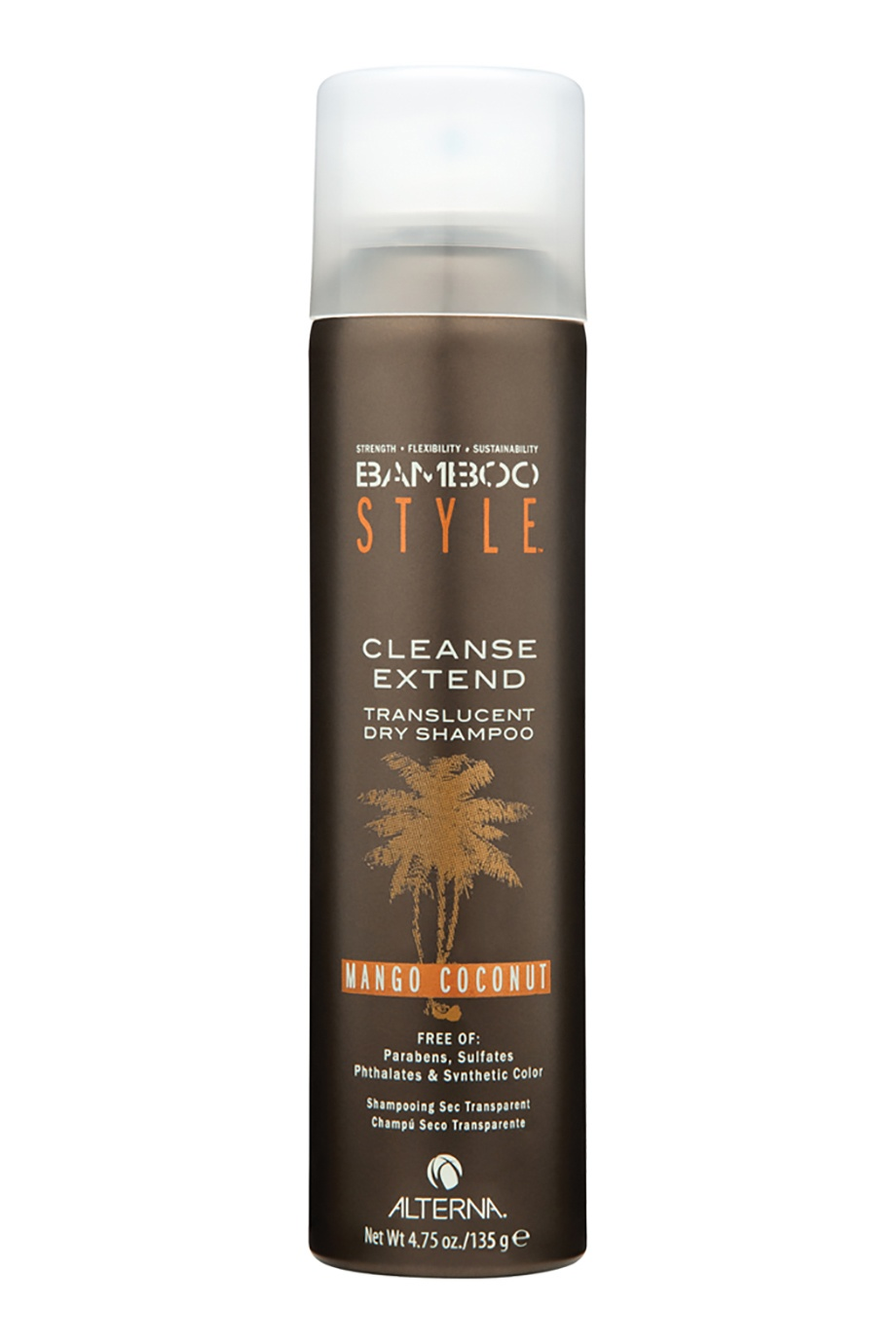 Сухой шампунь Bamboo Style Cleanse Extend Mango Coconut 150ml Alterna (фото)