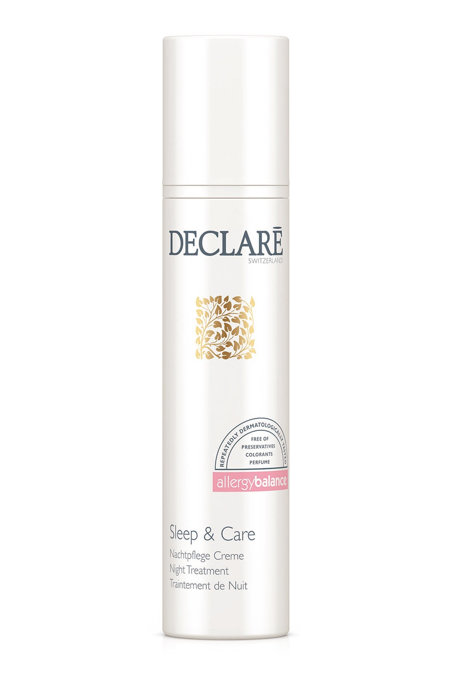 Ночной крем для лица Sleep & Care Night Treatment 50ml Declare (фото)