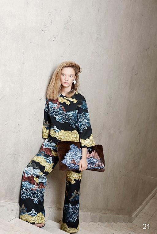 Фото 7 - Хлопковая блузка от Alena Akhmadullina черного цвета