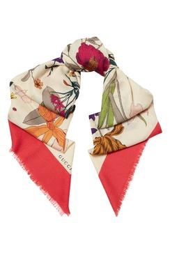 3e8a3dd2a41b Шарфы Gucci женские - купить платки Гуччи оригинал в интернет ...