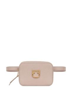 fcda11702de7 Пудровая сумка на пояс Belvedere FURLA – купить в интернет-магазине в Москве