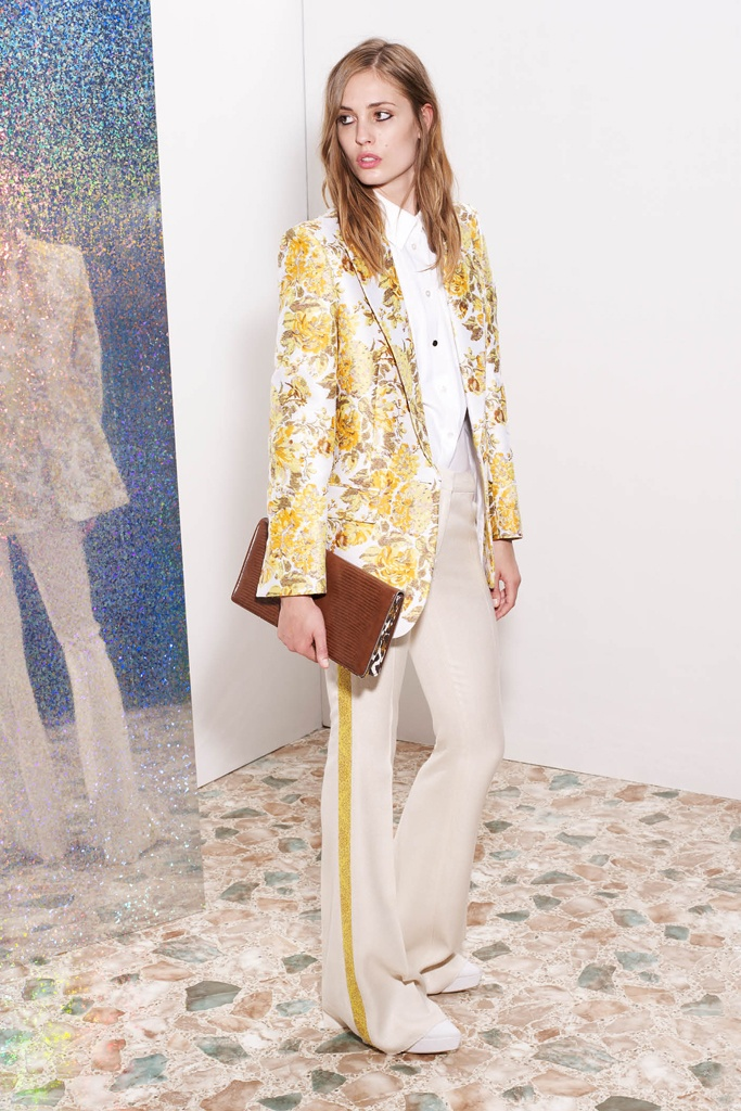 Пиджак из полиэстера и хлопка от Stella McCartney