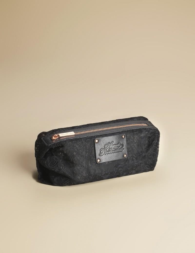 Косметичка Lace маленькаяНебольшие подарки<br>Размеры: 19 x 10 x 10cм<br><br>Возраст: Взрослый<br>Размер: U<br>Цвет: Черный<br>Пол: Женский<br>Состав: 100% полиамид подкладка: 100% полиэстер<br>Страна-производитель: Китай