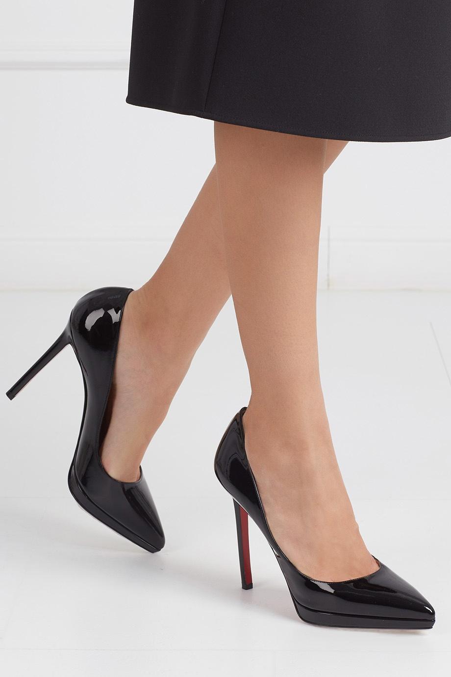 wholesale dealer be586 2a9c5 Туфли из лакированной кожи Pigalle Plato 120