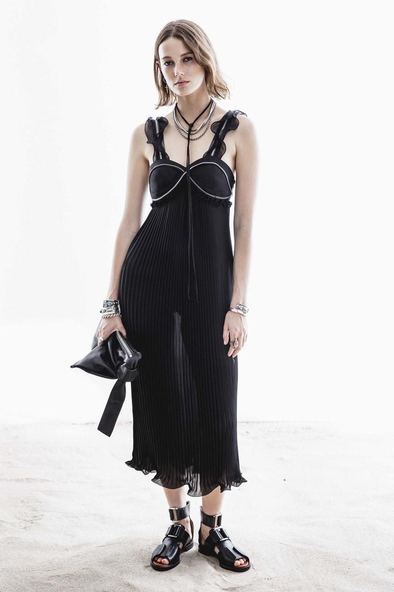 3.1 Phillip Lim Плиссированное платье