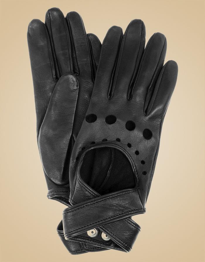 Перчатки Cross-StrapАксессуары<br>Перчатки для вождения из мягкой кожи с перекрестными ремнями.<br><br>Возраст: Взрослый<br>Размер: U<br>Цвет: Черный