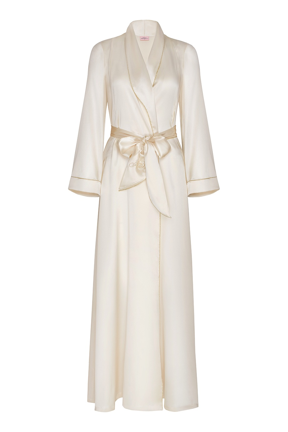 Халат Classic Dressing Gown Long белый Agent Provocateur (фото)