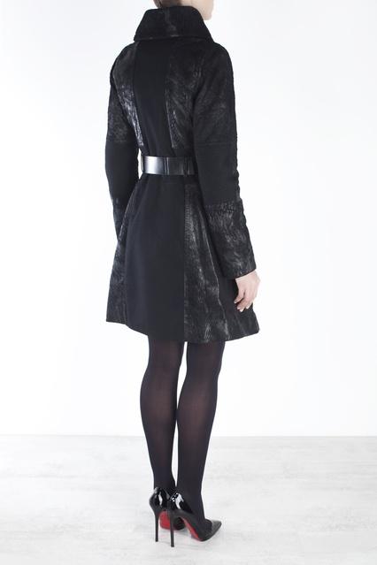 b4e4db6c020 Кожаное пальто Kaufmanfranco – купить в интернет-магазине в Москве