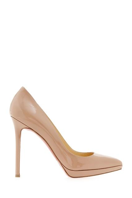 100327c89cdb Туфли из лакированной кожи Pigalle Plato 120 Christian Louboutin -  Christian Louboutin, Обувь, Обувь ...