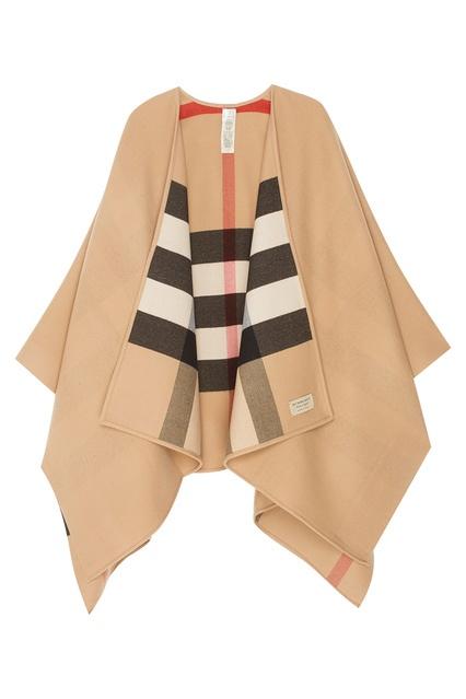 351db6411daa Шерстяной кейп Burberry - Burberry, Одежда, Одежда Burberry, вид 1 ...