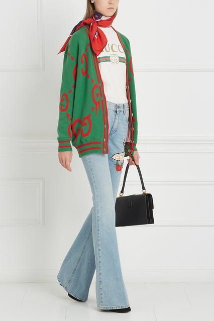 ... Шерстяной кардиган с монограммами Gucci - Gucci, Одежда, Одежда Gucci,  вид 3 ... b8e919dc52a