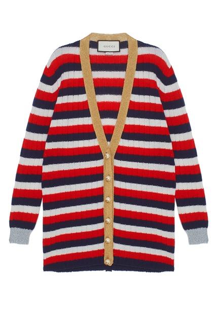 Кардиган из кашемира и шерсти Gucci - Gucci, Одежда, Одежда Gucci, вид 1 ... 6a60b1f9504