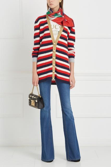 ... Кардиган из кашемира и шерсти Gucci - Gucci, Одежда, Одежда Gucci, вид  2 ... f4f3cfce530