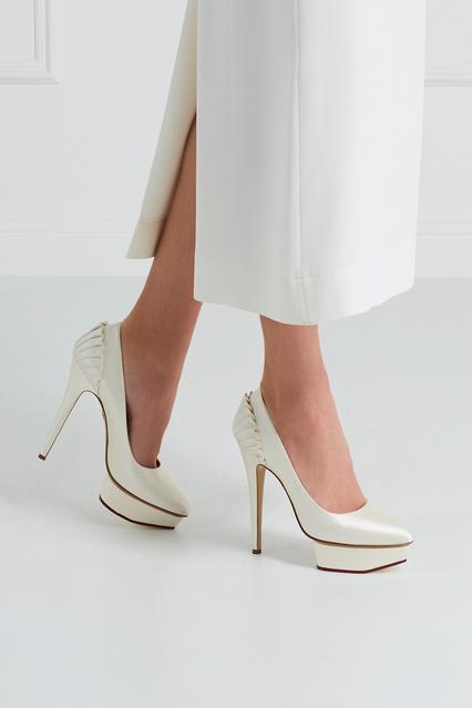 5e6db72b7014 ... Атласные туфли Paloma Charlotte Olympia - Charlotte Olympia, Обувь,  Обувь Charlotte Olympia, вид ...