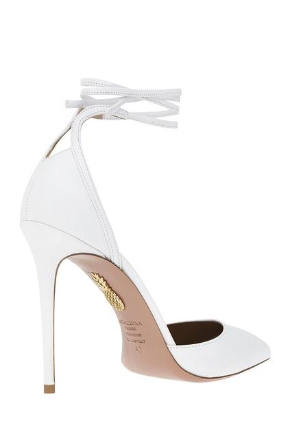 ba6369b6c23c ... Кожаные туфли Heart Breaker Pump 105 Aquazzura - Aquazzura, Обувь,  Обувь Aquazzura, вид ...