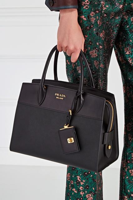 c4f1455ca656 ... Кожаная сумка Esplanade Prada - Prada, Женское, Женское Prada, вид 3 ...