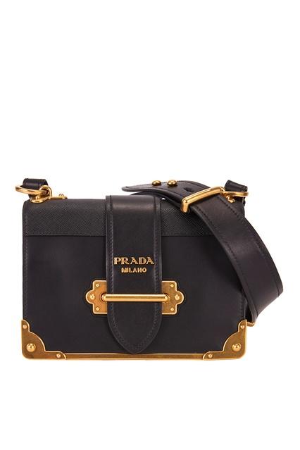 1e5281afc8b7 Кожаная сумка Cahier Prada - Prada, Женское, Женское Prada, вид 1 ...