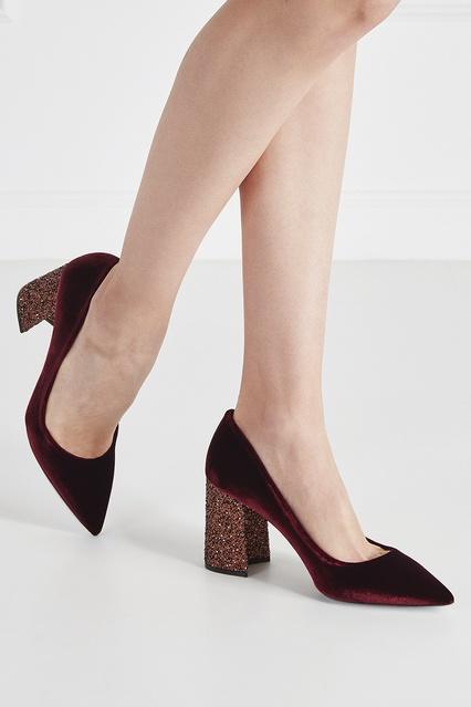 ... Велюровые туфли Miu Miu - Miu Miu, Обувь, Обувь Miu Miu, вид 3 ... 575148c3263
