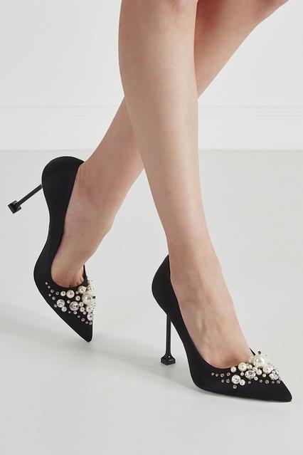 ... Атласные туфли Pearl Miu Miu - Miu Miu, Обувь, Обувь Miu Miu, вид ... 86f88635f0a