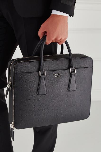 961104fb6ad9 ... Кожаная сумка Prada - Prada, Мужское, Мужское Prada, вид 3 ...