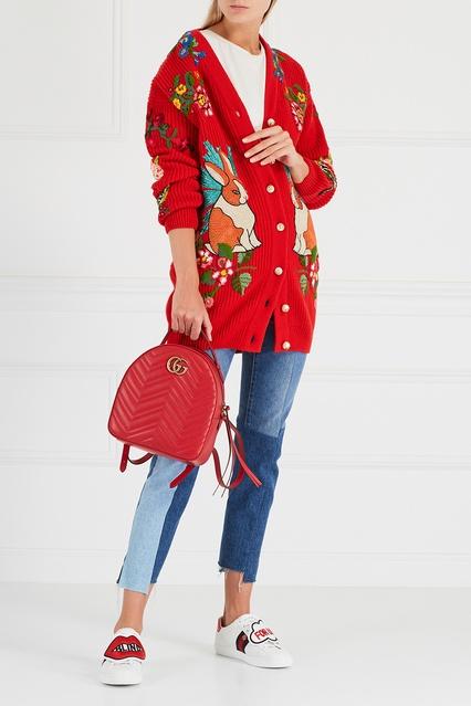 ... Шерстяной кардиган Gucci - Gucci, Одежда, Одежда Gucci, вид 3 ... 47b9dbc69cb
