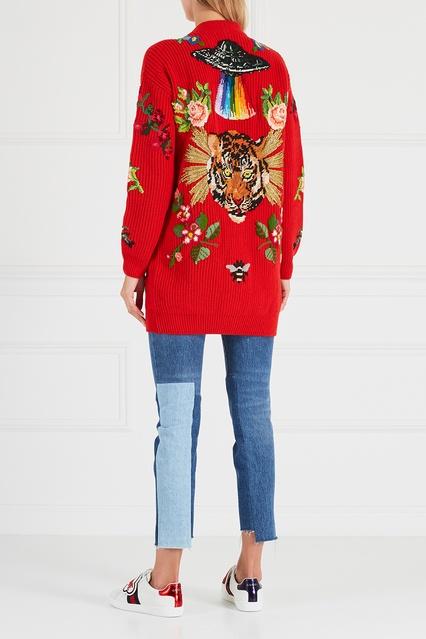 ... Шерстяной кардиган Gucci - Gucci, Одежда, Одежда Gucci, вид 4 ... 07e13937299