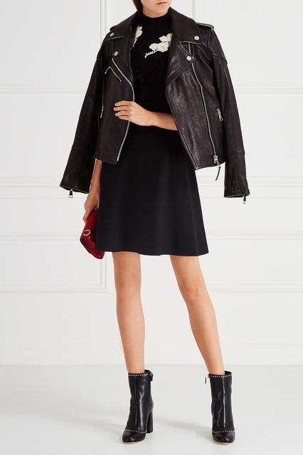 db06797b083 Платье и джерси с декором Red Valentino – купить в интернет-магазине ...