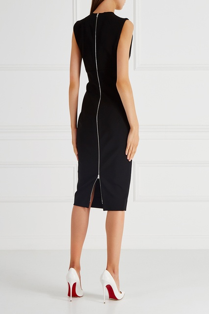 1bd3b00aa21 Однотонное платье-футляр Victoria Beckham – купить в интернет ...