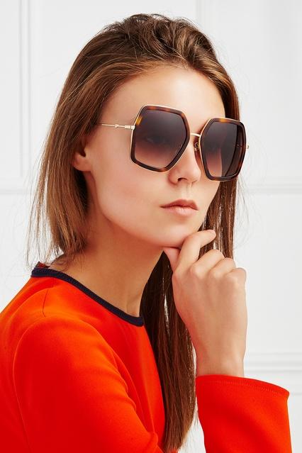 ... Солнцезащитные очки Gucci - Gucci, Аксессуары, Аксессуары Gucci, вид 2  ... 19179720d29
