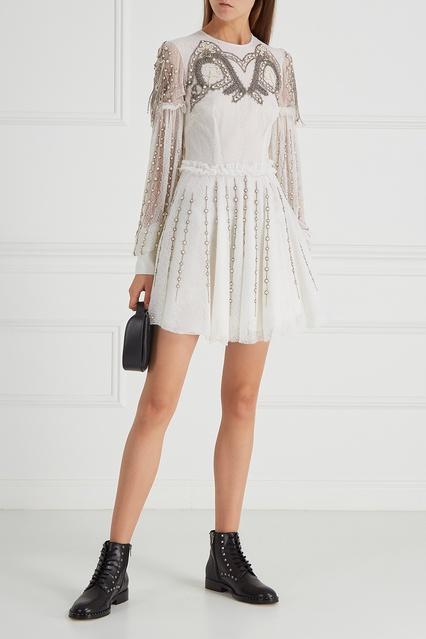 33738239012 Гипюровое платье с вышивкой Wandering – купить в интернет-магазине в ...
