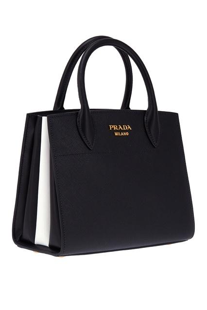 0f2d3626f777 ... Кожаная сумка Bibliotheque Prada - Prada, Женское, Женское Prada, вид 4  ...