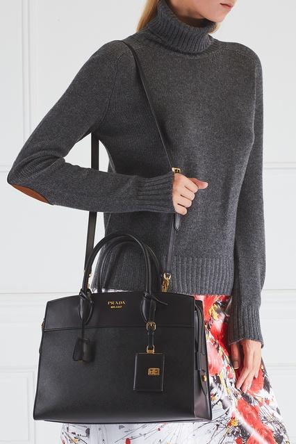 9d29dc518691 ... Кожаная сумка Esplanade Prada - Prada, Женское, Женское Prada, вид 3 ...