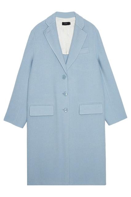 a8304647754 Голубое пальто-кокон Joseph – купить в интернет-магазине в Москве