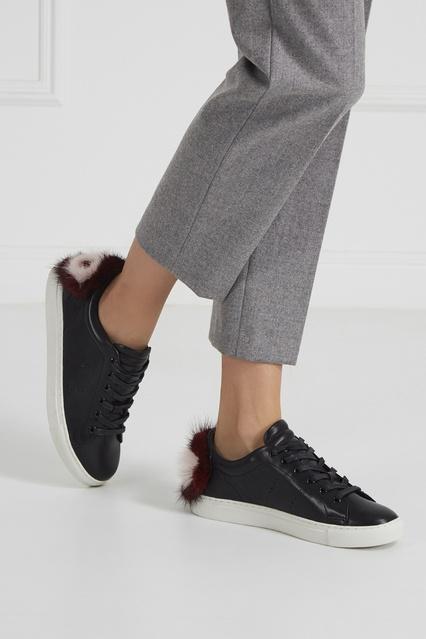 1f3c84843548 ... Кожаные кеды с мехом Lola Cruz - Lola Cruz, Обувь, Обувь Lola Cruz, ...