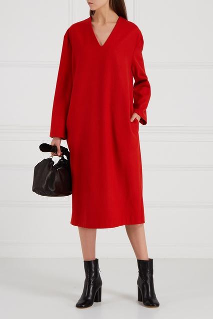 8849a104e39 Красное платье из шерсти Loom Moscow – купить в интернет-магазине в ...