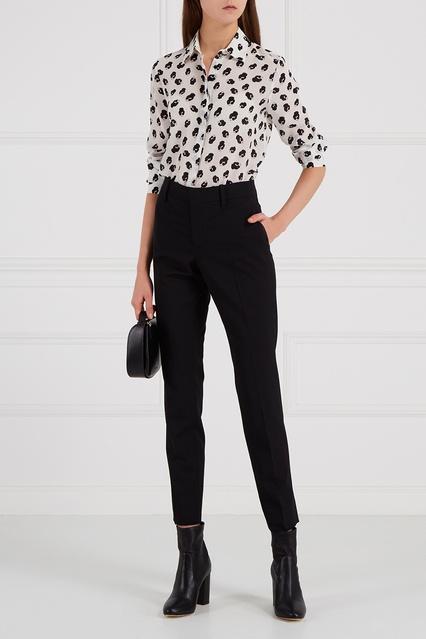 feef5d70b27 Шелковая блузка с принтом Alice + Olivia – купить в интернет ...