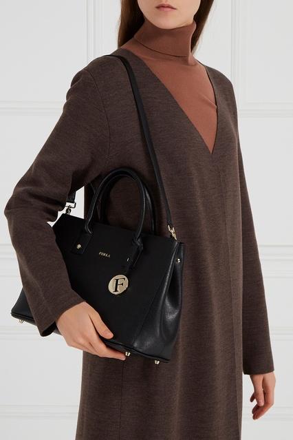 6a3e44d5a9b1 ... Черная сумка Linda FURLA - FURLA, Женское, Женское FURLA, вид 3 ...