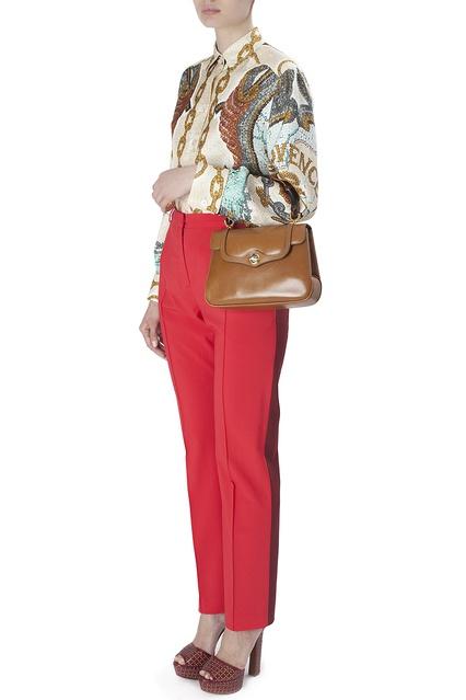 cad3ddbb29de ... Кожаная сумка Bamboo (70-е гг.) Gucci Vintage - Gucci Vintage, ...