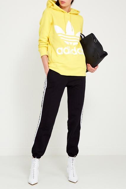 ca1afb539750 ... Желтое худи с логотипом Adidas - Adidas, Одежда, Одежда Adidas, вид 2  ...