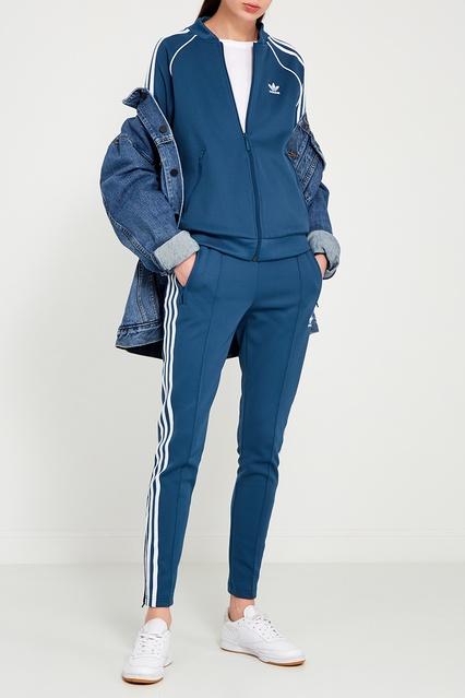 9bec444ad1aa ... Голубые брюки с полосками Adidas - Adidas, Одежда, Одежда Adidas, вид 2  ...