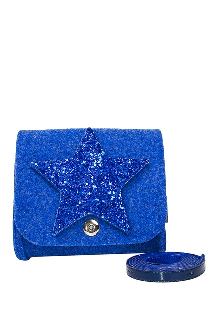 Синяя сумка со звездой RO RO - Сумка для девочки из коллекции бренда ... 58ab3164b98