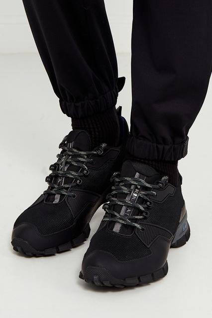 4fccb118 ... Черные кроссовки из текстиля Prada - Prada, Мужское, Мужское Prada, вид  3 ...
