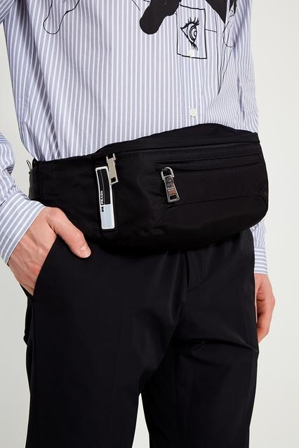 4c3e5bcf250d ... Поясная сумка из текстиля Prada - Prada, Мужское, Мужское Prada, вид 2  ...