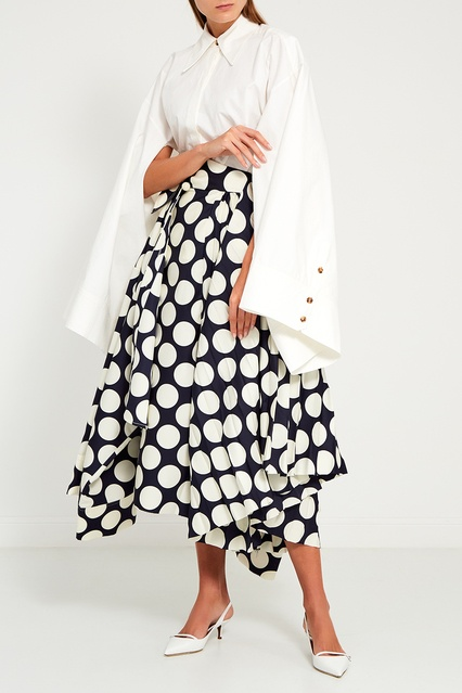 1c5156bf456 Блузка с широкими рукавами A.W.A.K.E. – купить в интернет-магазине в ...